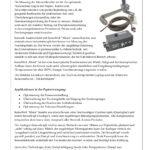 Sensorik Austria - SensoWeb Moist - Datenblatt