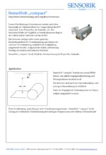 Sensorik Austria - SensoWeb Compact - Datenblatt