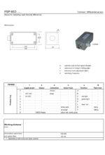 Sensorik Austria - FSP60D - Datasheet