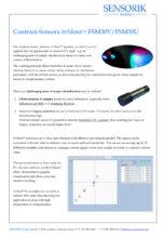 Sensorik Austria - tri²dent FSM30V- Contrast Sensor